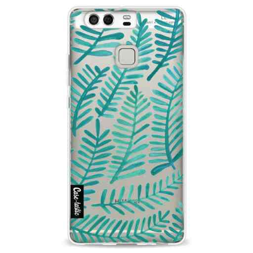 Casetastic Softcover Huawei P9 - Turquoise Fronds