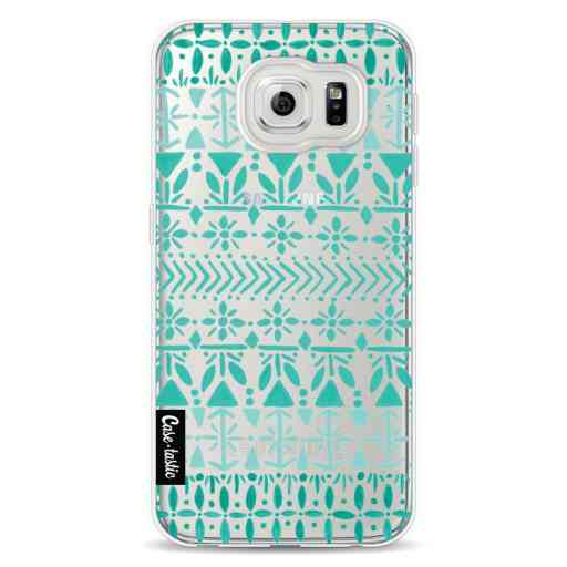 Casetastic Softcover Samsung Galaxy S6 - Norwegian Turquoise
