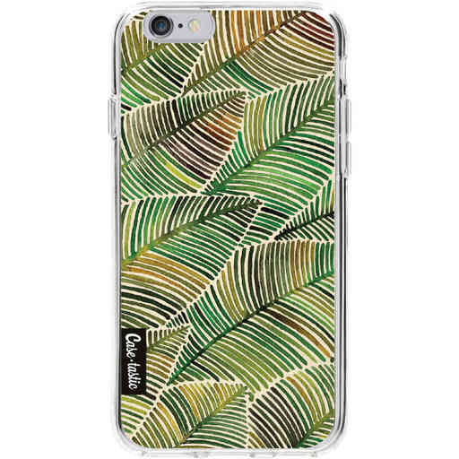 Casetastic Softcover Apple iPhone 6 / 6s  - Tropical Leaves Yellow
