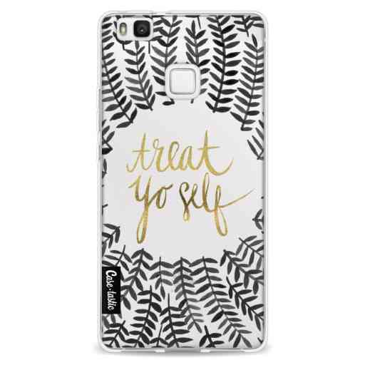 Casetastic Softcover Huawei P9 Lite - Treat Yoself BlackGold