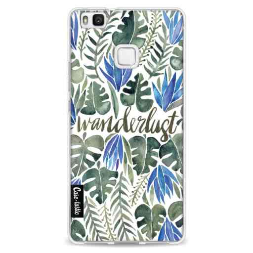 Casetastic Softcover Huawei P9 Lite - Wanderlust GreyWhite