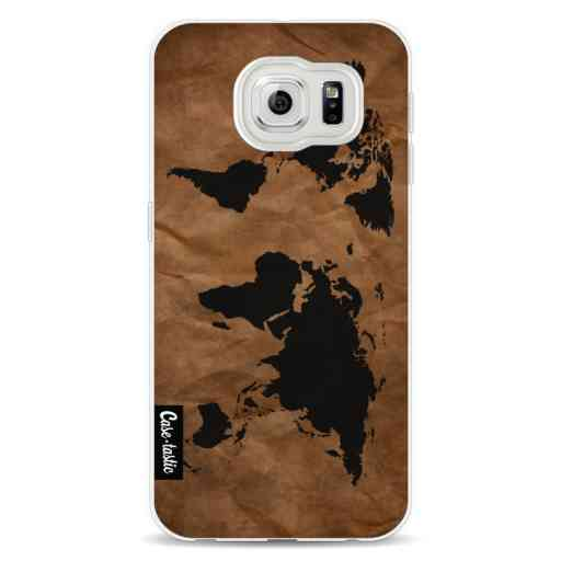Casetastic Softcover Samsung Galaxy S6 - World Map