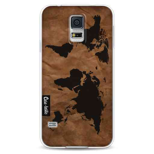 Casetastic Softcover Samsung Galaxy S5 - World Map