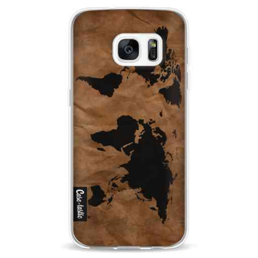 Casetastic Softcover Samsung Galaxy S7 - World Map