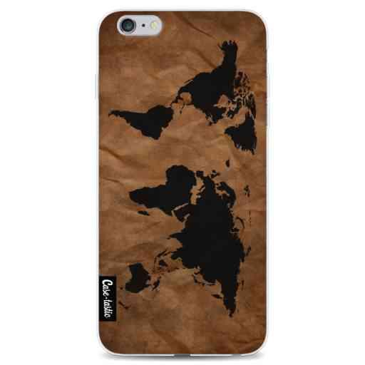 Casetastic Softcover Apple iPhone 6 Plus / 6s Plus - World Map