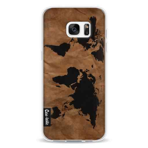 Casetastic Softcover Samsung Galaxy S7 Edge - World Map