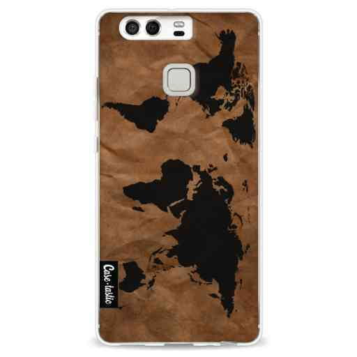Casetastic Softcover Huawei P9  - World Map