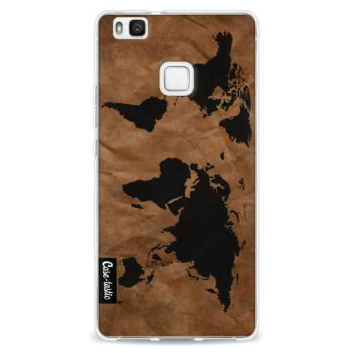 Casetastic Softcover Huawei P9 Lite - World Map
