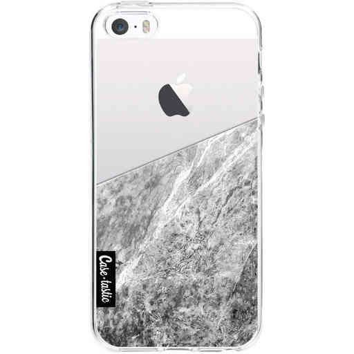 Casetastic Softcover Apple iPhone 5 / 5s / SE - Marble Transparent