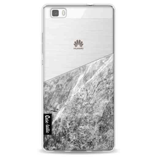 Casetastic Softcover Huawei P8 Lite (2015) - Marble Transparent