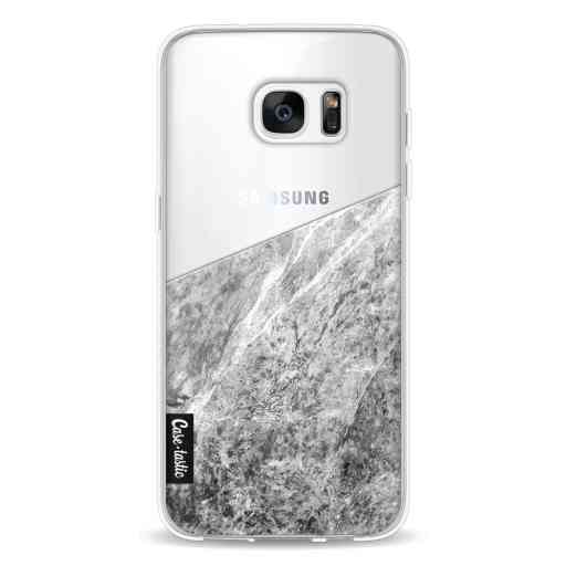 Casetastic Softcover Samsung Galaxy S7 Edge - Marble Transparent