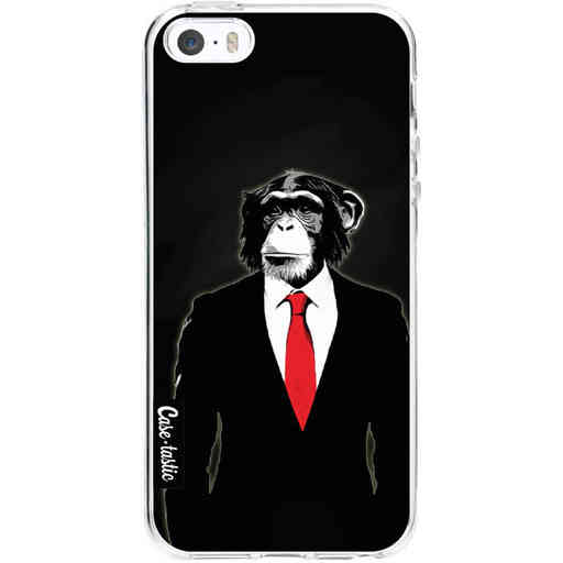 Casetastic Softcover Apple iPhone 5 / 5s / SE - Domesticated Monkey