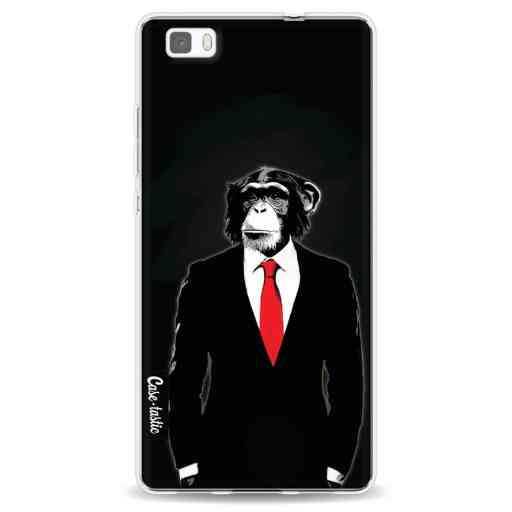 Casetastic Softcover Huawei P8 Lite (2015) - Domesticated Monkey