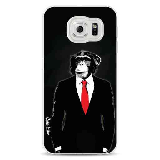 Casetastic Softcover Samsung Galaxy S6 - Domesticated Monkey