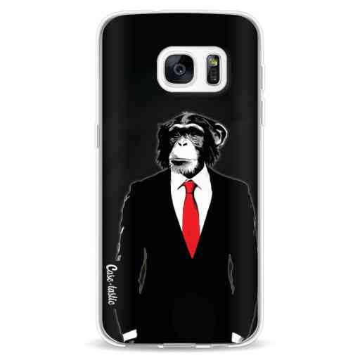 Casetastic Softcover Samsung Galaxy S7 - Domesticated Monkey