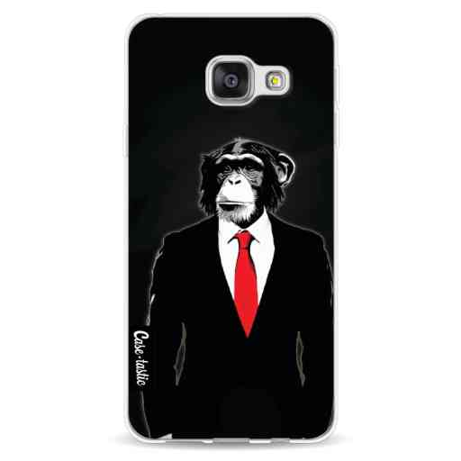 Casetastic Softcover Samsung Galaxy A3 (2016) - Domesticated Monkey
