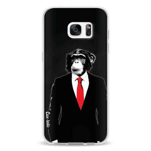 Casetastic Softcover Samsung Galaxy S7 Edge - Domesticated Monkey
