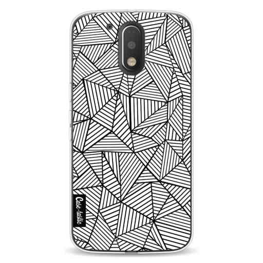 Casetastic Softcover Motorola Moto G4 / G4 Plus - Abstraction Lines