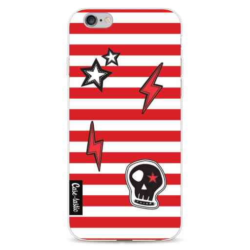 Casetastic Softcover Apple iPhone 6 / 6s  - Red Patches