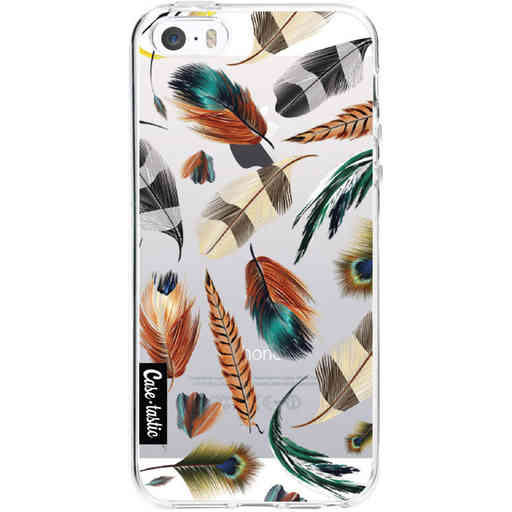 Casetastic Softcover Apple iPhone 5 / 5s / SE - Feathers Multi