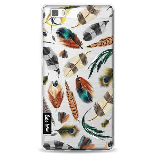 Casetastic Softcover Huawei P8 Lite (2015) - Feathers Multi