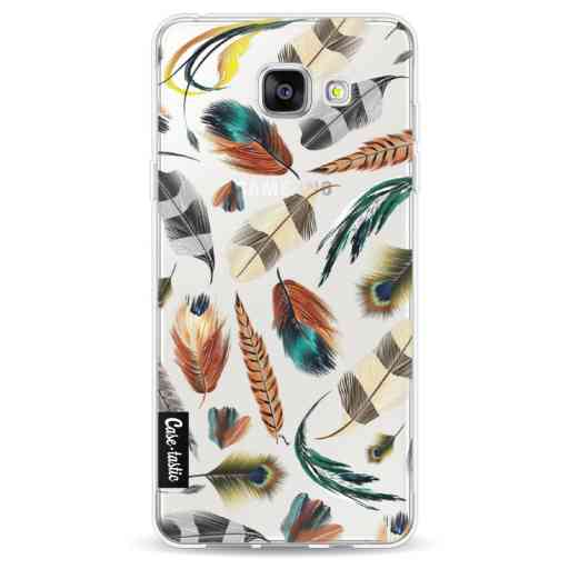 Casetastic Softcover Samsung Galaxy A5 (2016) - Feathers Multi