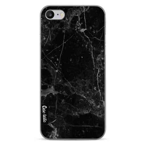 Casetastic Softcover Apple iPhone 7 / 8 / SE (2020) - Black Marble