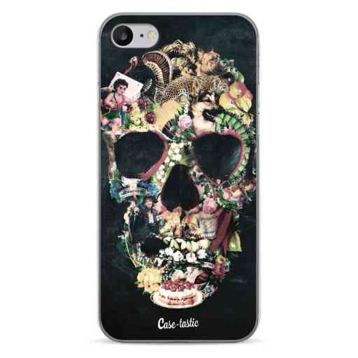 Casetastic Softcover Apple iPhone 7 / 8 / SE (2020) - Vintage Skull