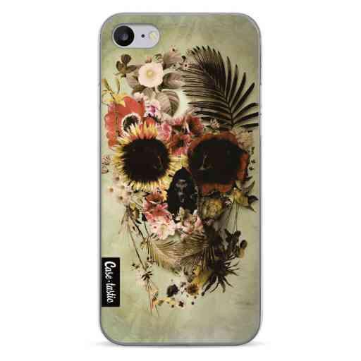 Casetastic Softcover Apple iPhone 7 / 8 / SE (2020) - Garden Skull Light