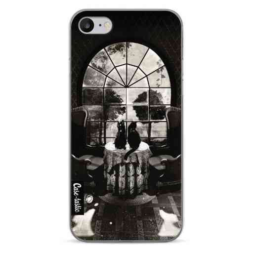 Casetastic Softcover Apple iPhone 7 / 8 / SE (2020) - Room Skull BW