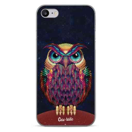 Casetastic Softcover Apple iPhone 7 / 8 / SE (2020) - Owl 2