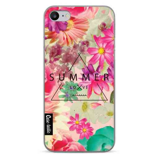 Casetastic Softcover Apple iPhone 7 / 8 / SE (2020) - Summer Love Flowers