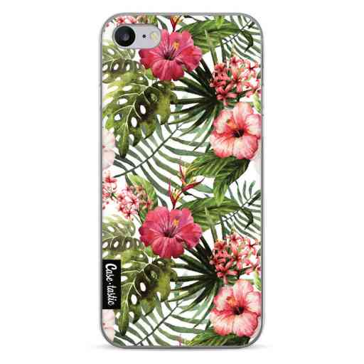 Casetastic Softcover Apple iPhone 7 / 8 / SE (2020) - Tropical Flowers