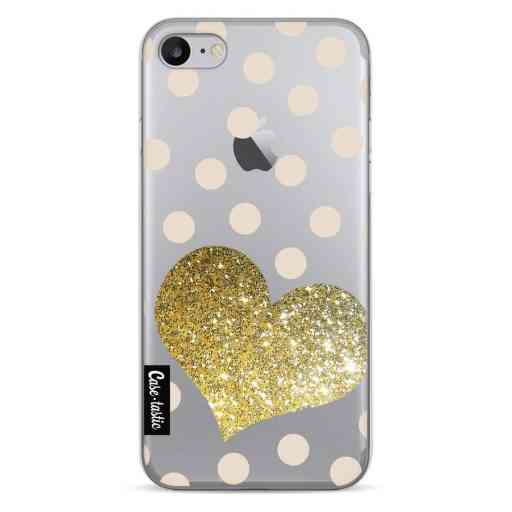 Casetastic Softcover Apple iPhone 7 / 8 - Glitter Heart