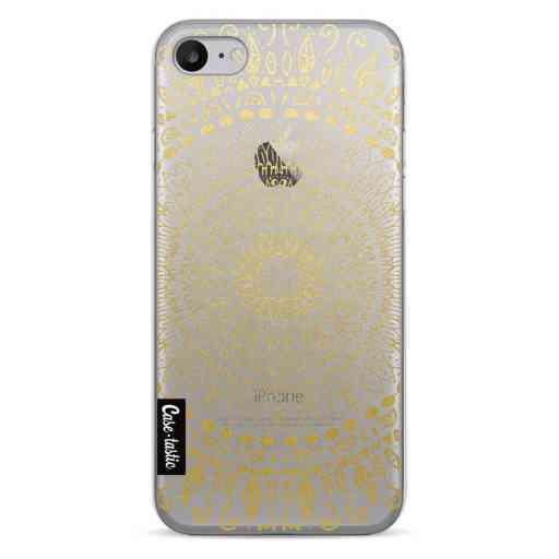 Casetastic Softcover Apple iPhone 7 / 8 / SE (2020) - Gold Mandala