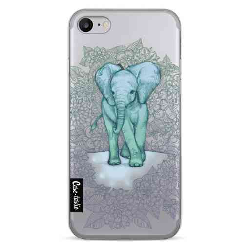 Casetastic Softcover Apple iPhone 7 / 8 / SE (2020) - Emerald Elephant