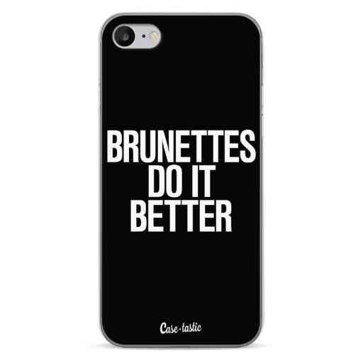 Casetastic Softcover Apple iPhone 7 / 8 / SE (2020) - Brunettes Do It Better