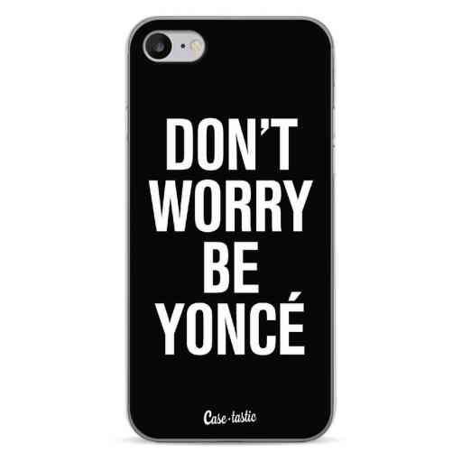 Casetastic Softcover Apple iPhone 7 / 8 / SE (2020) - Don't Worry Beyoncé