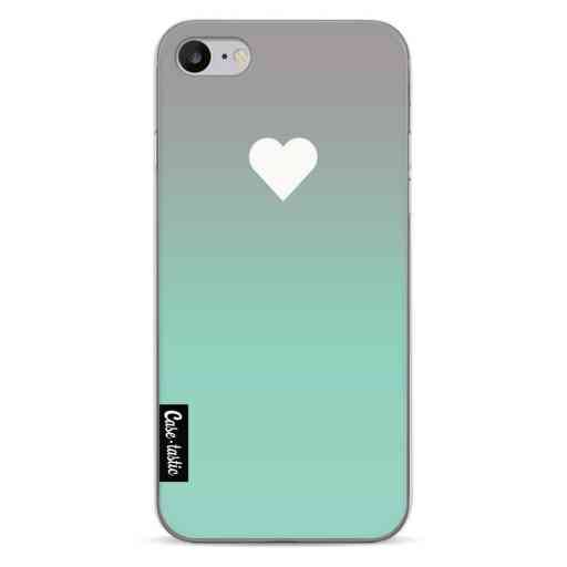 Casetastic Softcover Apple iPhone 7 / 8 - Tiffany Heart Fade