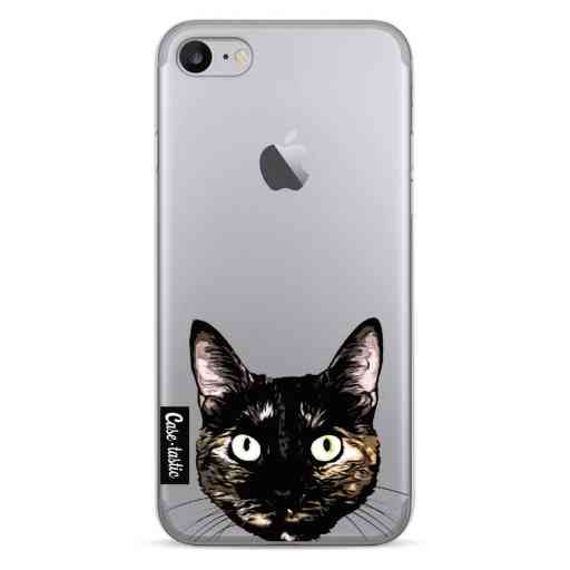 Casetastic Softcover Apple iPhone 7 / 8 - Peeking Kitty