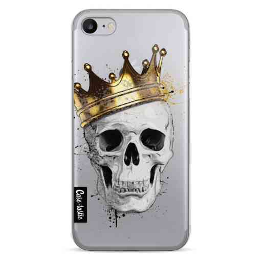 Casetastic Softcover Apple iPhone 7 / 8 / SE (2020) - Royal Skull