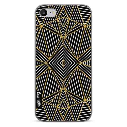 Casetastic Softcover Apple iPhone 7 / 8 - Abstraction Half Gold