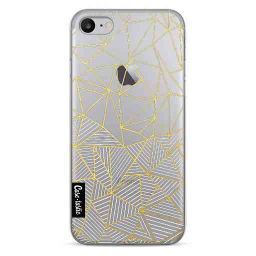 Casetastic Softcover Apple iPhone 7 / 8 - Abstraction Half Half Transparent