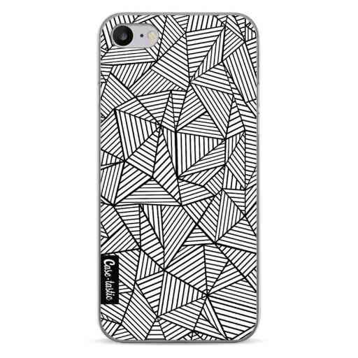 Casetastic Softcover Apple iPhone 7 / 8 / SE (2020) - Abstraction Lines