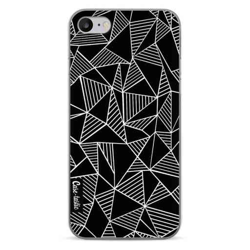Casetastic Softcover Apple iPhone 7 / 8 - Abstraction Lines Black