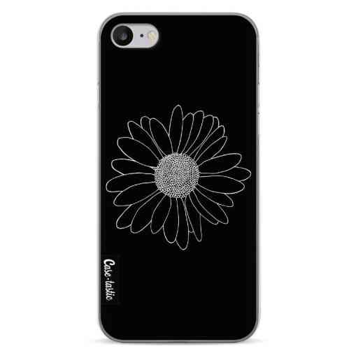 Casetastic Softcover Apple iPhone 7 / 8 / SE (2020) - Daisy Black