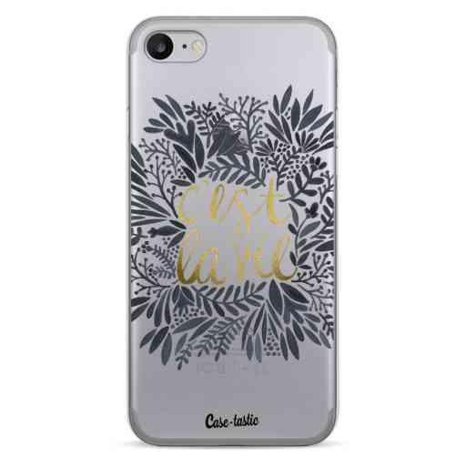 Casetastic Softcover Apple iPhone 7 / 8 / SE (2020) - Cest La Vie BlackGold