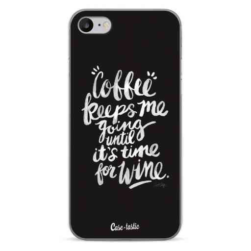 Casetastic Softcover Apple iPhone 7 / 8 / SE (2020) - Coffee Wine White