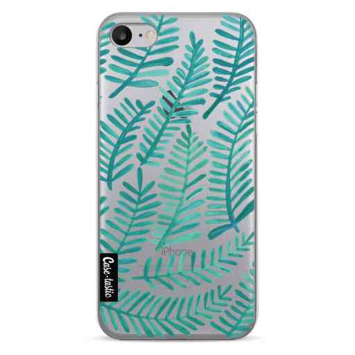 Casetastic Softcover Apple iPhone 7 / 8 / SE (2020) - Turquoise Fronds