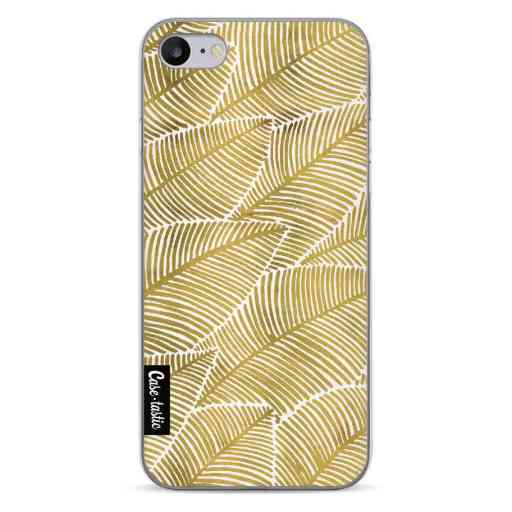 Casetastic Softcover Apple iPhone 7 / 8 / SE (2020) - Tropical Leaves Gold